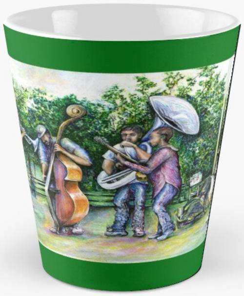 Mama Never Warned Me About Tuba Players Tall Mug