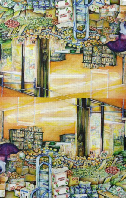 Original Painting by New York City Artist, Gaye Elise Beda. Kitchen Hand Towels    Check it out. www.gayeelisebeda.store