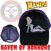 Elvira Trucker Girl Purple Hat