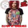 Mars Attacks Sin City Skinner Raglan T-Shirt
