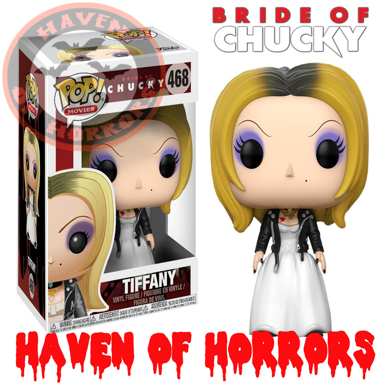 9042b3f2 Childs Play Bride of Chucky Tiffany Pop! Vinyl - havenofhorrors
