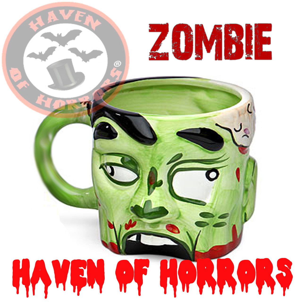 Mug Head Zombie Ceramic Zombie Male 7Ybvfg6y