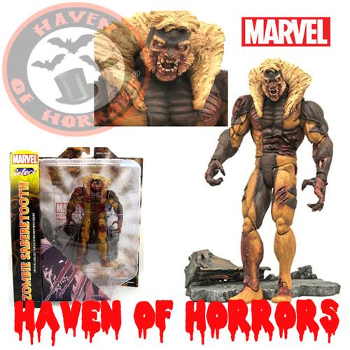 X-Men Zombie Sabretooth Marvel Action Figure