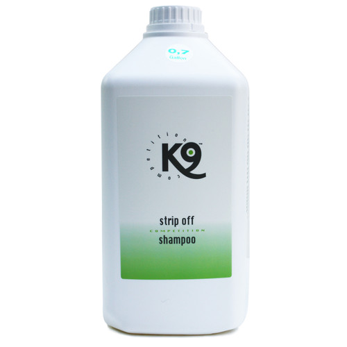 K9 Competition Strip Off Shampoo 2.7 Liter