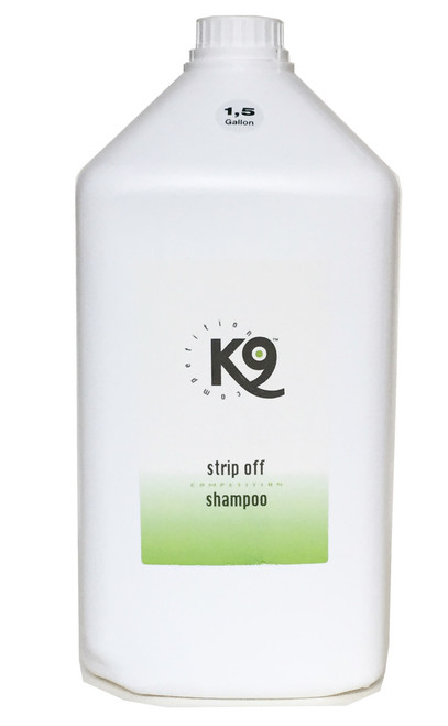 K9 Competition Strip Off Shampoo 5.7 Liter