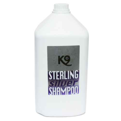 K9 Competition Sterling Silver Shampoo 2.7 L