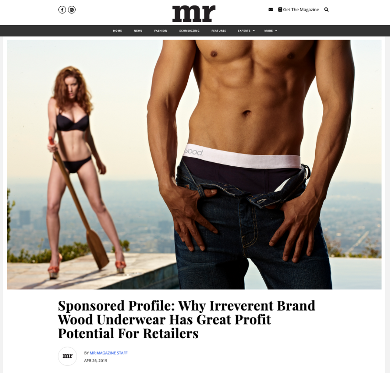 Why Irreverent Brand Wood Underwear Has Great Potential...