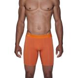 Biker Brief - Wood Orange