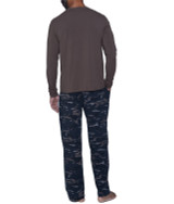 """Lounge Pant with Drawstring - Forest """"Camo"""""""