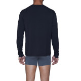 Henley - Long Sleeve - Black