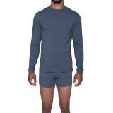 Long Sleeve Crew Undershirt - Charcoal Heather