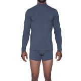 Long Sleeve Mock Turtle Undershirt - Charcoal Heather