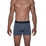 Boxer Brief w/Fly - Charcoal Heather