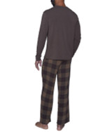 Lounge Pant with Draw String - Chestnut Checkers