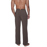Lounge Pant with Draw String - Maple Herringbone