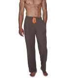 Lounge Pant with Draw String - Maple Herringbone