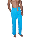 Lounge Pant with Draw String - B-Squared Blue