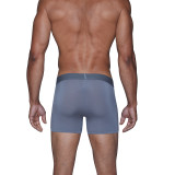 Cashmere (Yes!) Underwear - Boxer Brief - Pewter - LUXE