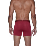 Boxer Brief w/Fly - Burgundy