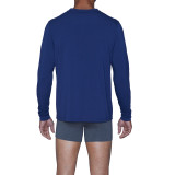 Henley - Long Sleeve - Deep Space Blue