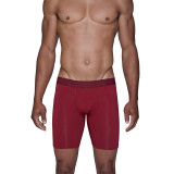 Biker Brief w/Fly - Burgundy