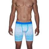 Biker Brief w/Fly - Blue Diamond Gradient