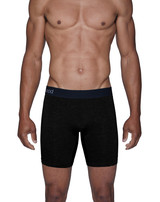 Biker Brief w/Fly - Black