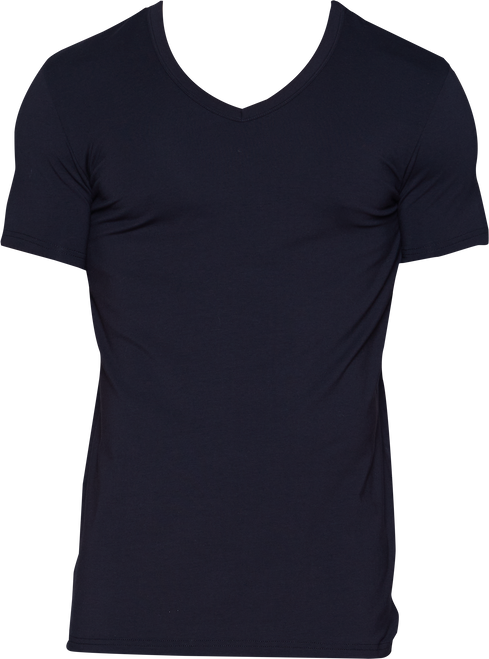 Wood V-Neck - Black