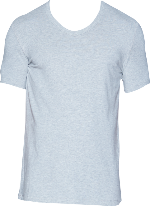 Wood V-Neck - Heather Grey