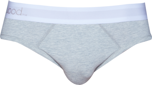 Hip Brief - Heather Grey
