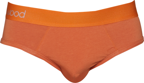 Hip Brief - Wood Orange