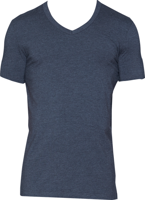 Wood V-Neck - Charcoal Heather