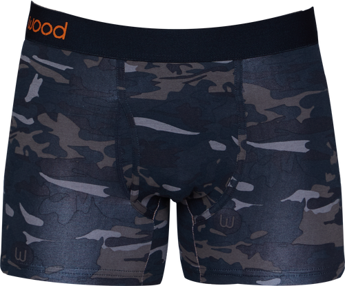 Boxer Brief w/Fly - Forest Camo