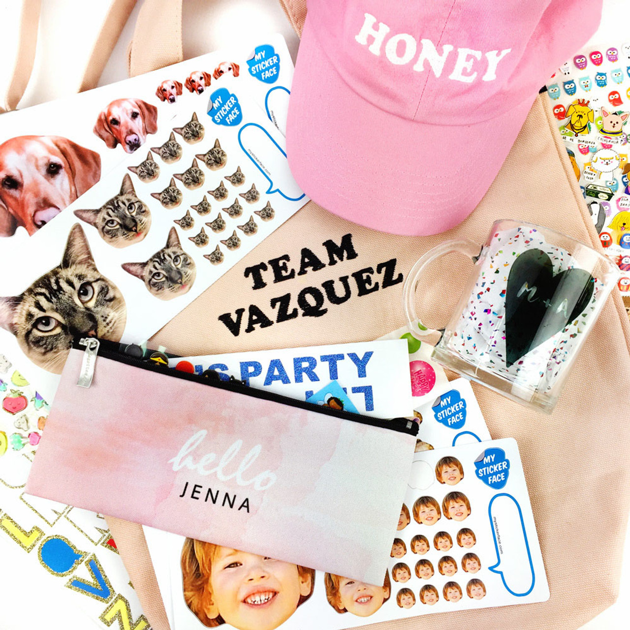 My Sticker Face + Pipsticks Giveaway