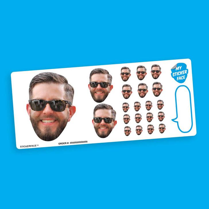 Sampler StickerFace™ Sheet