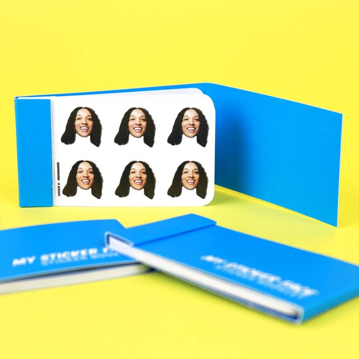 "0.75"" StickerFace™ Booklet"