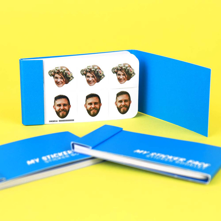 """0.75"""" Duo Face Sticker Booklet"""