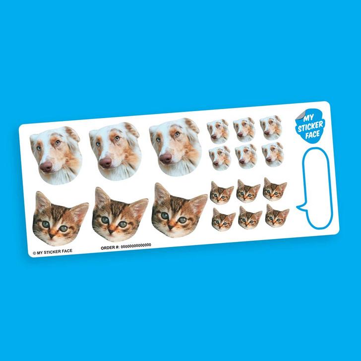 Duo Sampler StickerFace™ Sheet