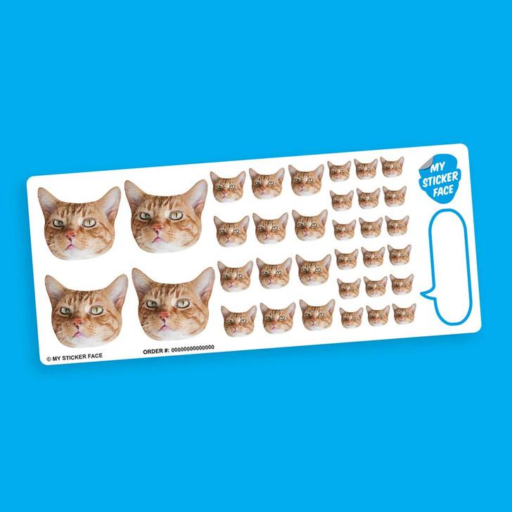 Elite Sampler StickerFace™ Sheet
