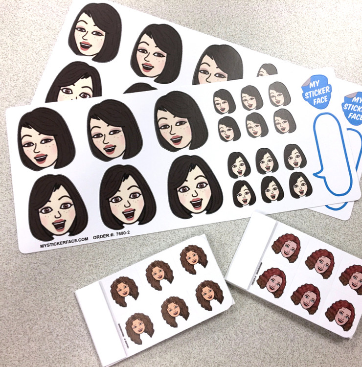 Bitmoji Sticker Faces - My Sticker Face