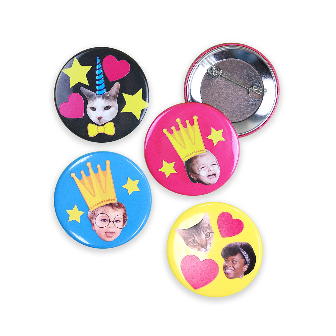 Face Buttons Accessories
