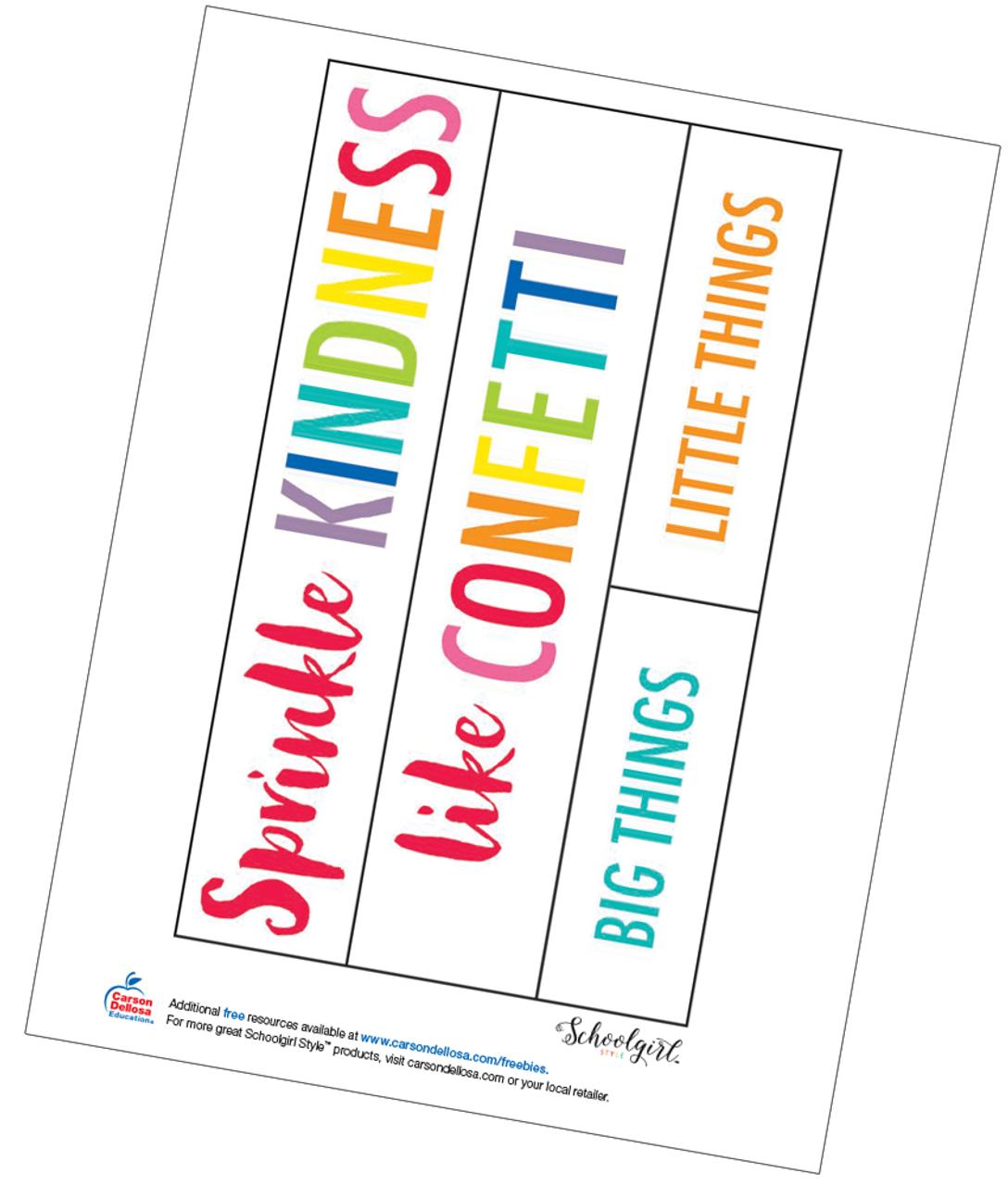 photo regarding Printable Anchor known as Schoolgirl Design: Anchor Chart Absolutely free Printable - Carson