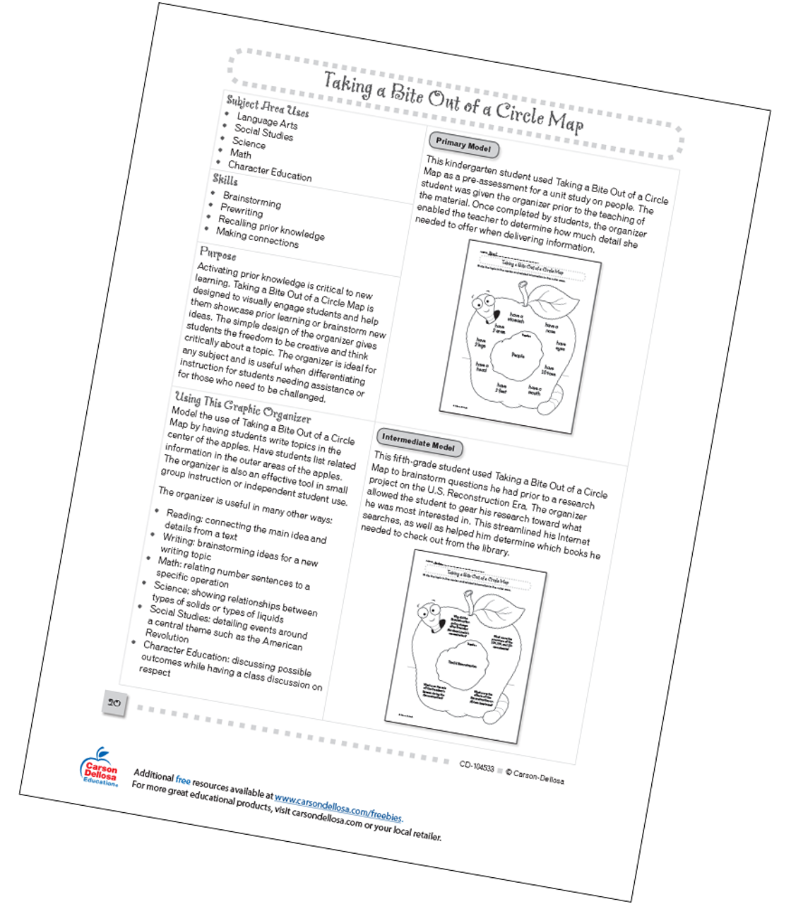 picture about Circle Map Printable titled Getting a Chunk Out of a Circle Map Cost-free Printable Carson