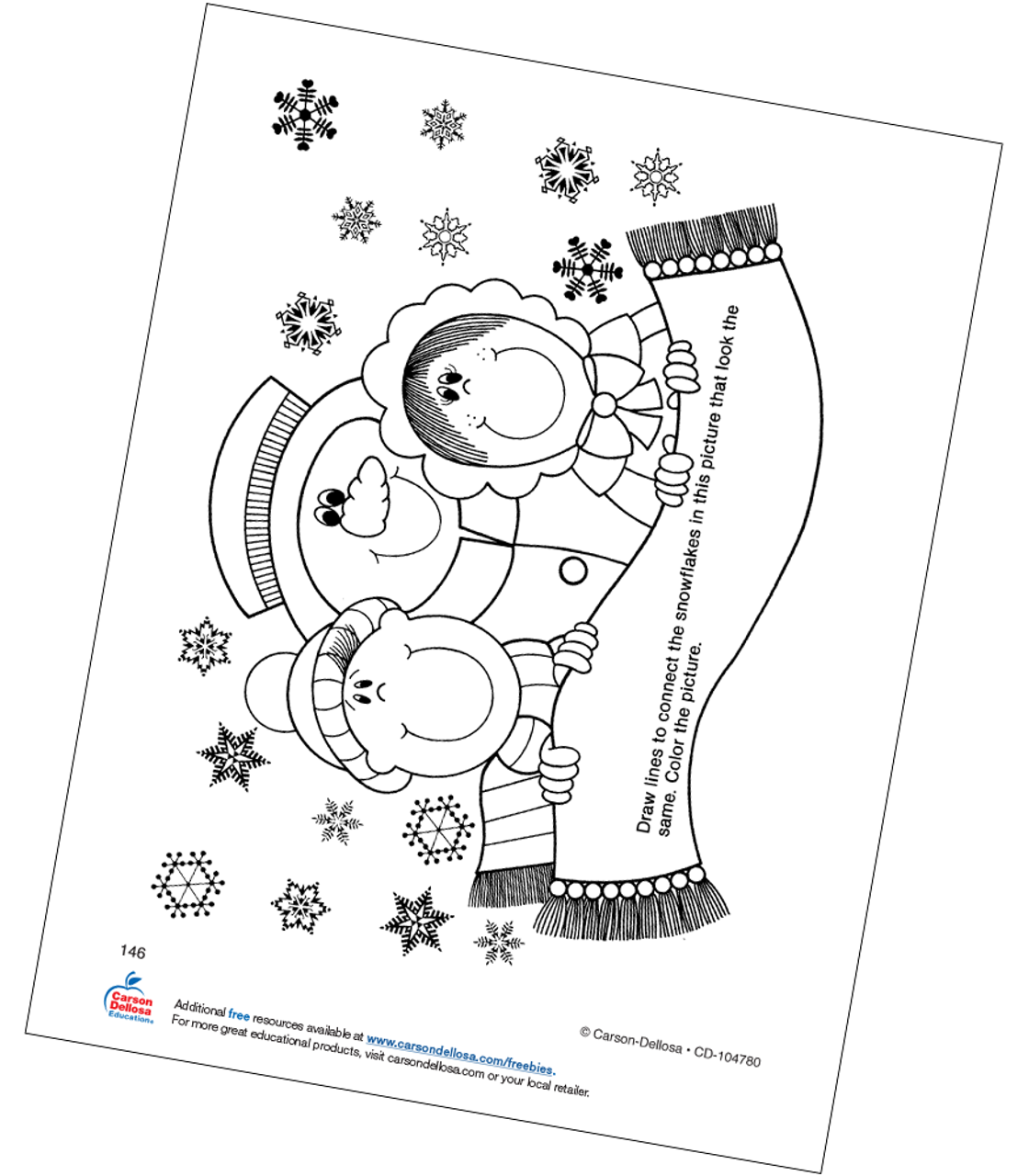 13 snowflake coloring pages - Print Color Craft | 1280x1120