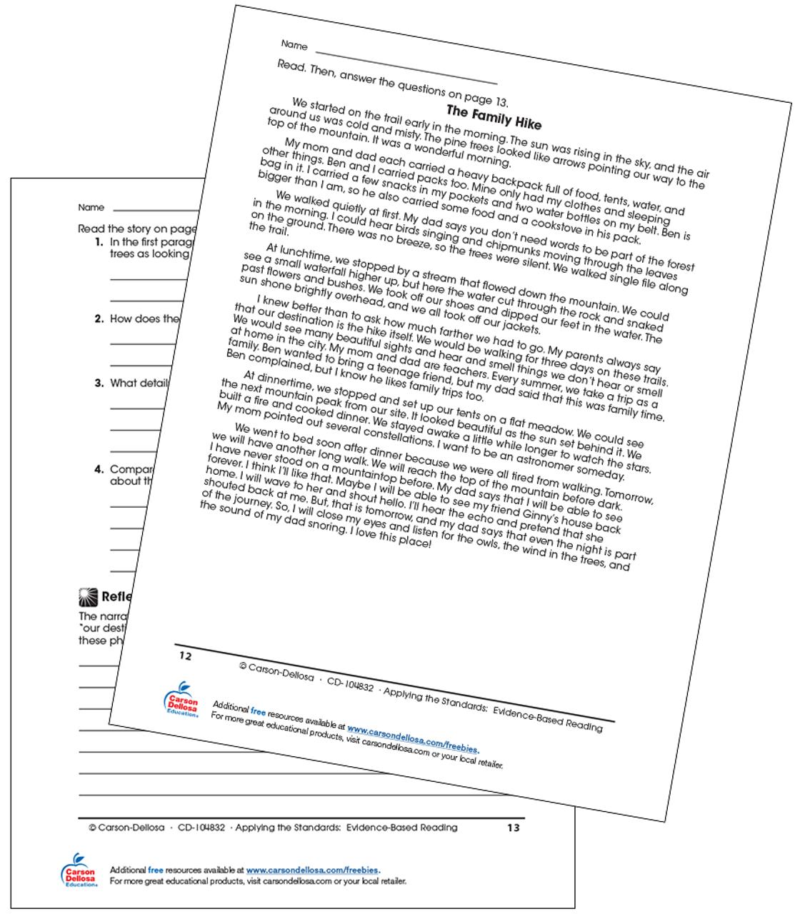- Free Printable Comprehension Passages For Grade 3 لم يسبق له مثيل