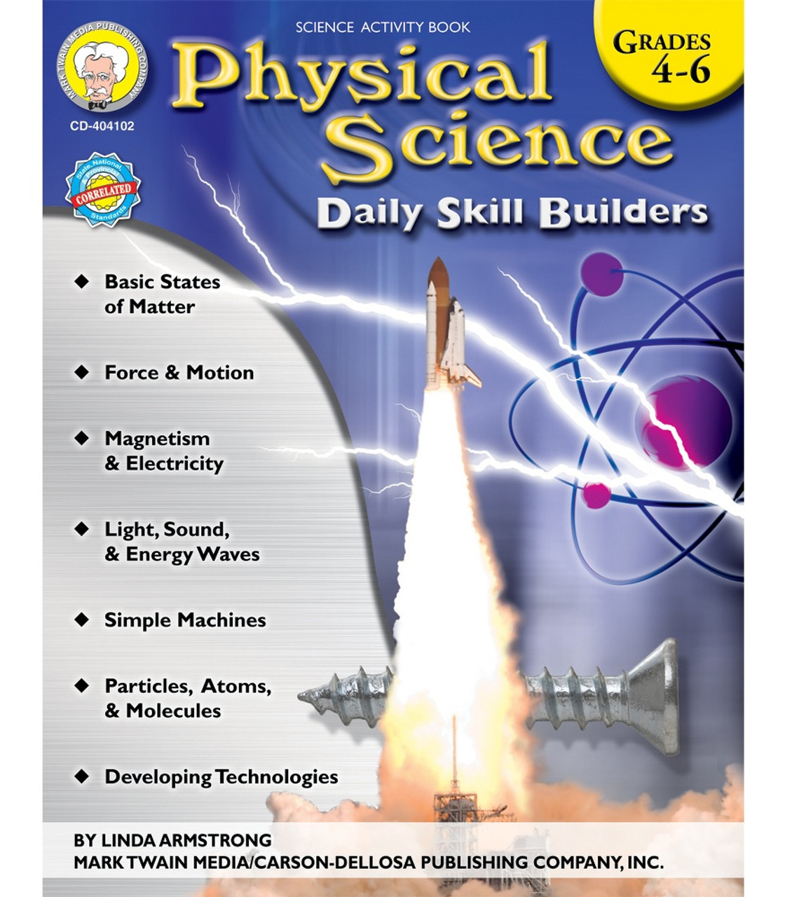 Physical Science: Physical Science Resource Book Grade 4-6 Paperback