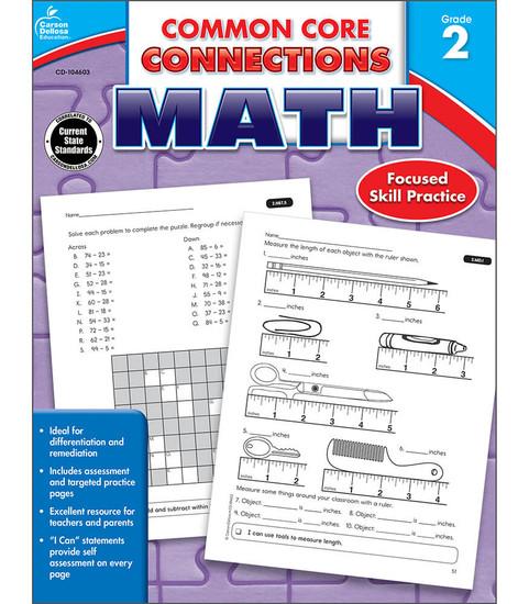 Carson-Dellosa Common Core Connections Math, Grade 2 Teacher