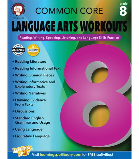 Mark Twain Common Core Language Arts Workouts, Grade 8 Teacher