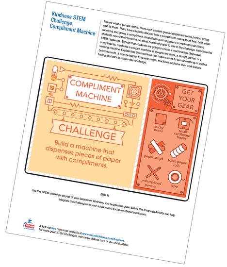 Compliment Machine Free Printable