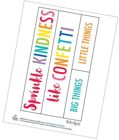 Schoolgirl Style: Anchor Chart Free Printable